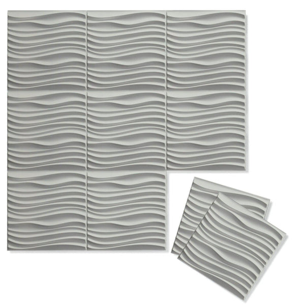 Luxe Supermatte Wall Flats - 3D Wall Panels - Current 3D Supermatte Wall Flats - 1 - Inhabit