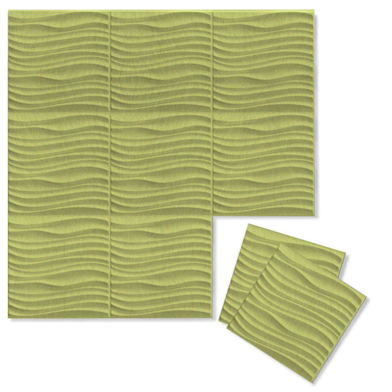 Felt 3D Wall Flats - Acoustic Panels - Current 3D Wool Felt Wall Flats - 12 - Inhabit