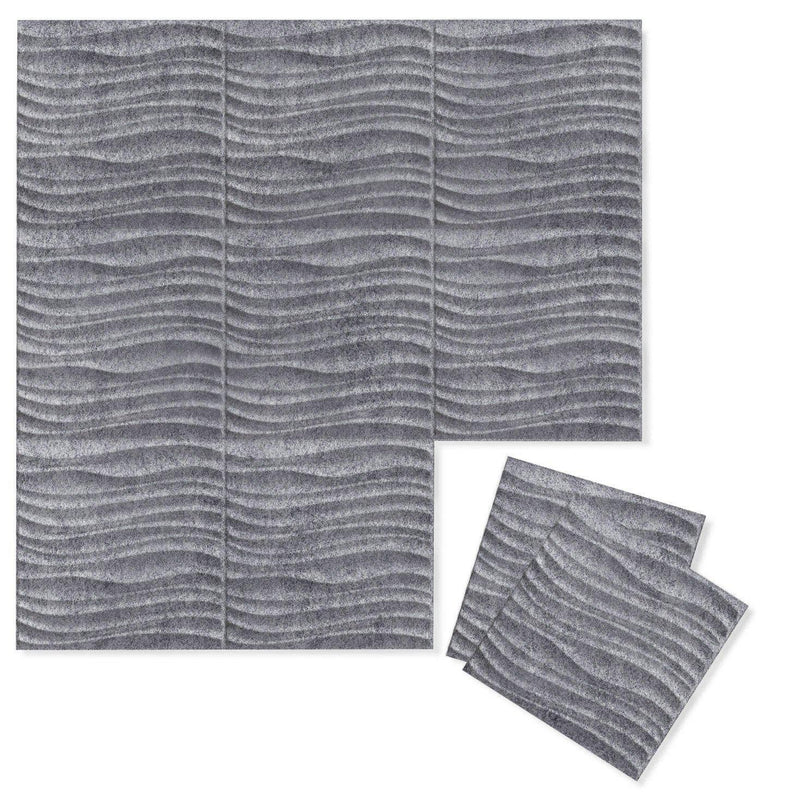 Felt 3D Wall Flats - Acoustic Panels - Current 3D Wool Felt Wall Flats - 5 - Inhabit