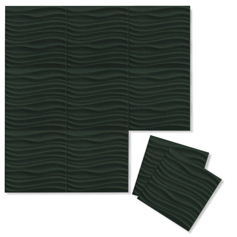 Felt 3D Wall Flats - Acoustic Panels - Current 3D Wool Felt Wall Flats - 7 - Inhabit