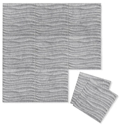 Felt 3D Wall Flats - Acoustic Panels - Current 3D Wool Felt Wall Flats - 3 - Inhabit
