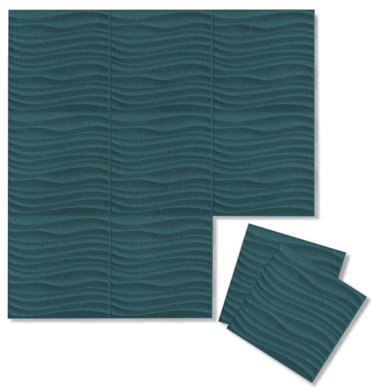 Felt 3D Wall Flats - Acoustic Panels - Current 3D Wool Felt Wall Flats - 14 - Inhabit