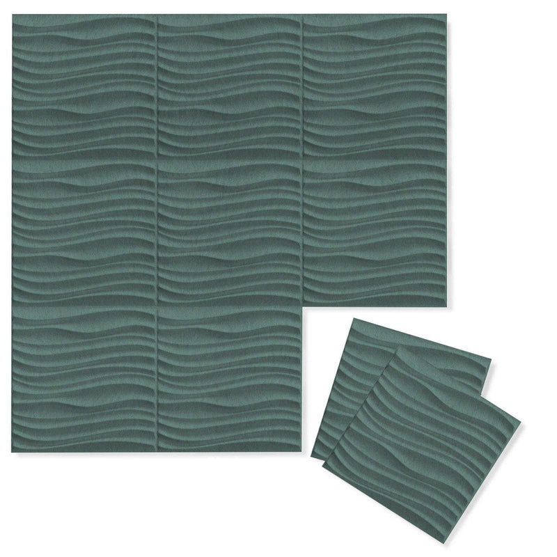 Felt 3D Wall Flats - Acoustic Panels - Current 3D Wool Felt Wall Flats - 4 - Inhabit