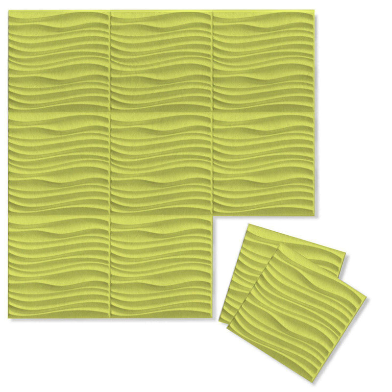 Felt 3D Wall Flats - Acoustic Panels - Current 3D Wool Felt Wall Flats - 13 - Inhabit