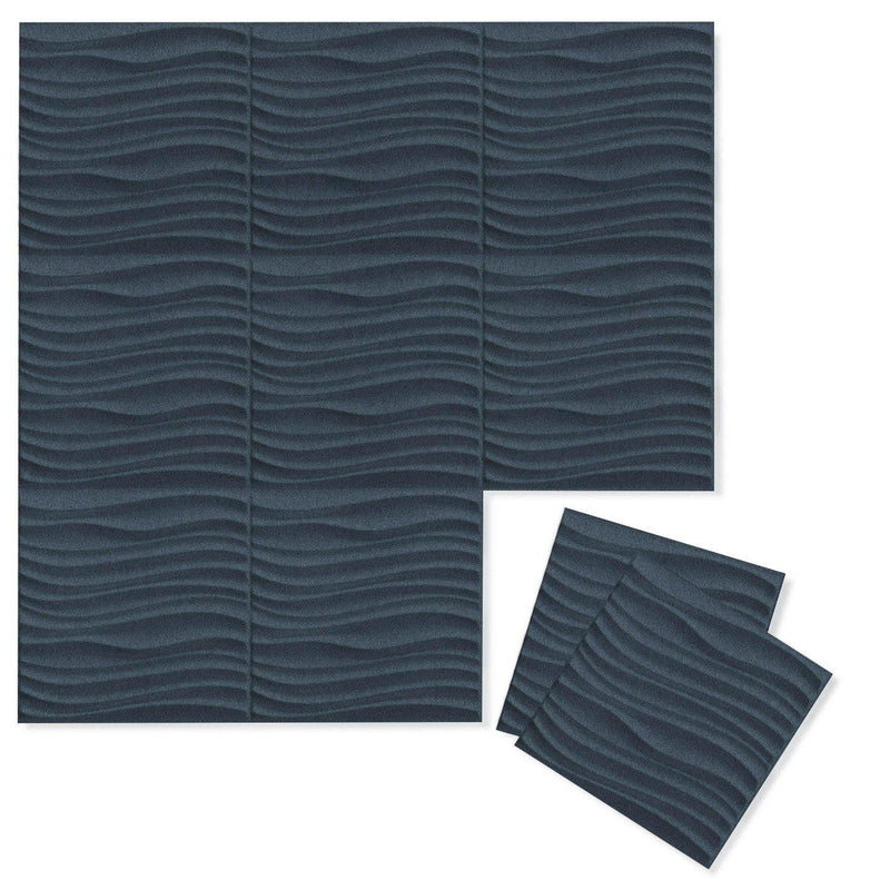 Felt 3D Wall Flats - Acoustic Panels - Current 3D Wool Felt Wall Flats - 6 - Inhabit