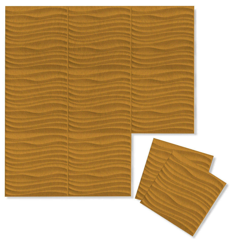 Felt 3D Wall Flats - Acoustic Panels - Current 3D Wool Felt Wall Flats - 8 - Inhabit
