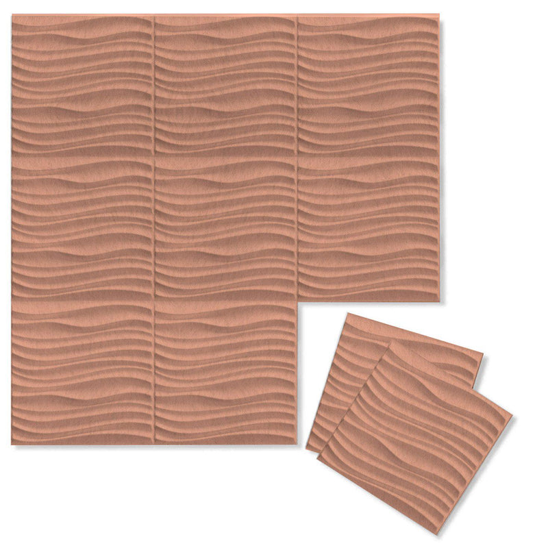 Felt 3D Wall Flats - Acoustic Panels - Current 3D Wool Felt Wall Flats - 11 - Inhabit