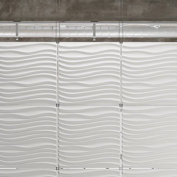 Hanging Wall Flat Systems - Current Hanging Paintable Wall Flat System - 3D Wall Panels - 2 - Inhabit