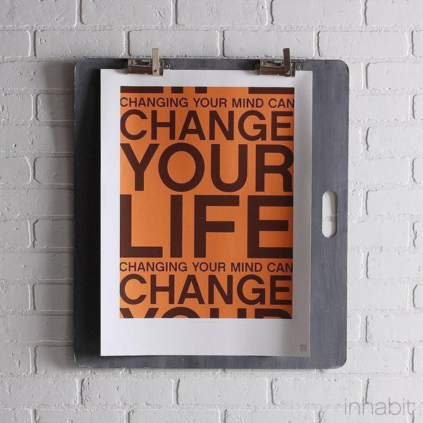 "Change Your Life in Sunshine Print - 18"" x24""- Art Prints - Inhabitliving.com - Inhabit - 1"