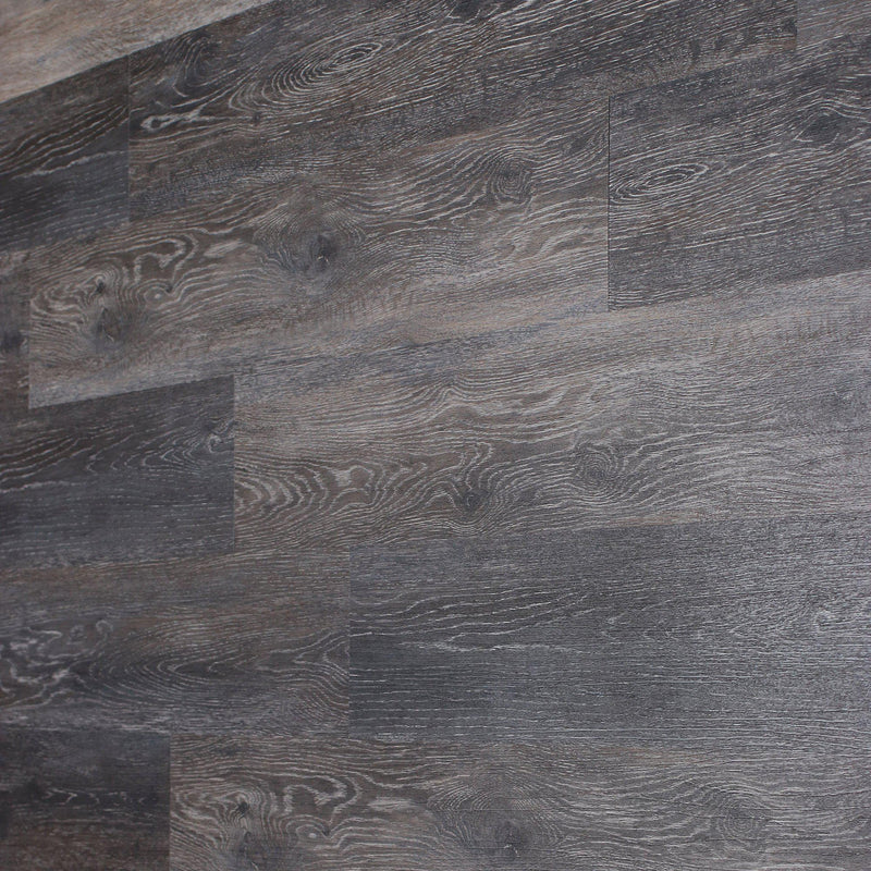 Planks - Dark Weathered Gray Oak Peel and Stick Wall Planks - 9 - Inhabit