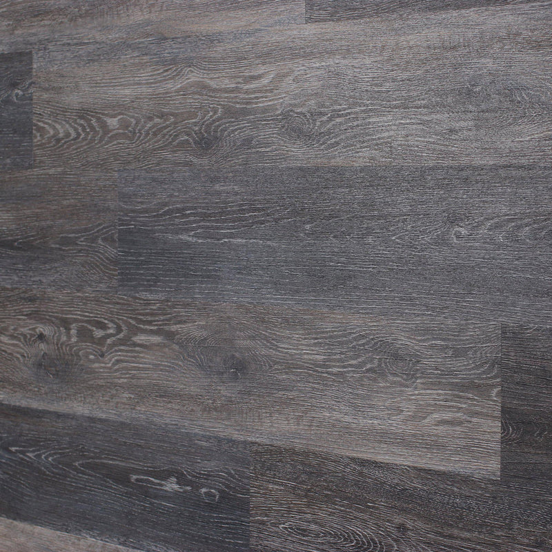 Planks - Dark Weathered Gray Oak Peel and Stick Wall Planks - 10 - Inhabit