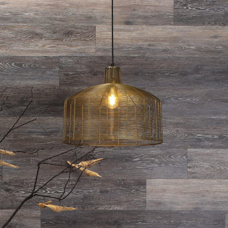 Planks - Dark Weathered Gray Oak Peel and Stick Wall Planks - 5 - Inhabit
