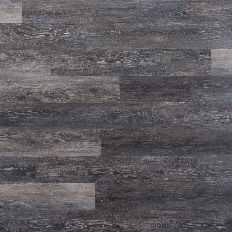 Planks - Dark Weathered Gray Oak Peel and Stick Wall Planks - 3 - Inhabit