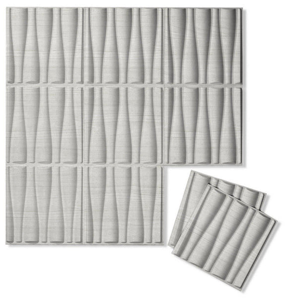 Luxe Supermatte Wall Flats - 3D Wall Panels - Drift 3D Luxe Wall Flats - 1 - Inhabit