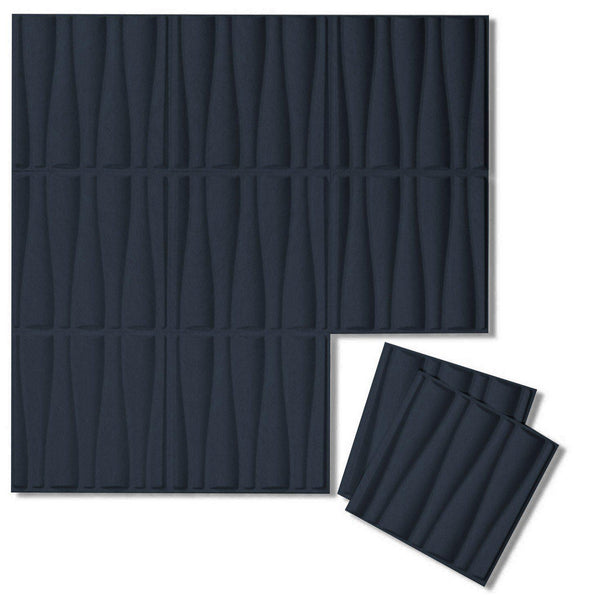 Felt 3D Wall Flats - Acoustic Panels - Drift 3D PET Felt Wall Flats - 1 - Inhabit