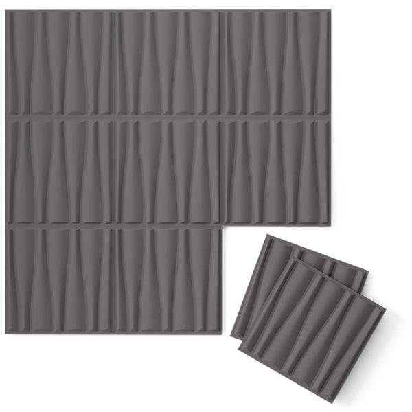 Luxe Supermatte Wall Flats - 3D Wall Panels - Drift 3D Supermatte Wall Flats - 1 - Inhabit