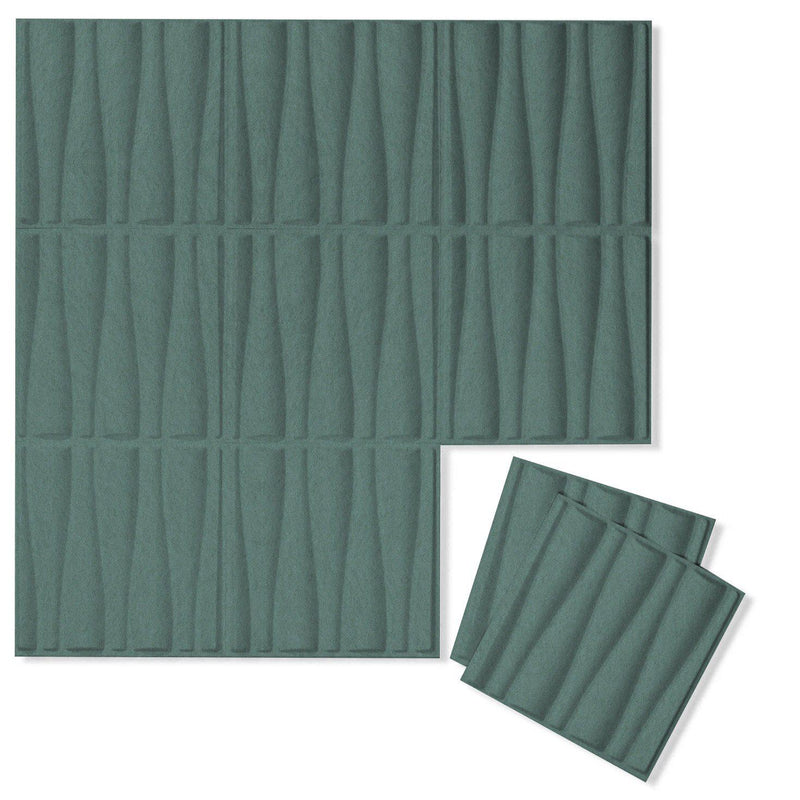 Felt 3D Wall Flats - Acoustic Panels - Drift 3D Wool Felt Wall Flats - 7 - Inhabit