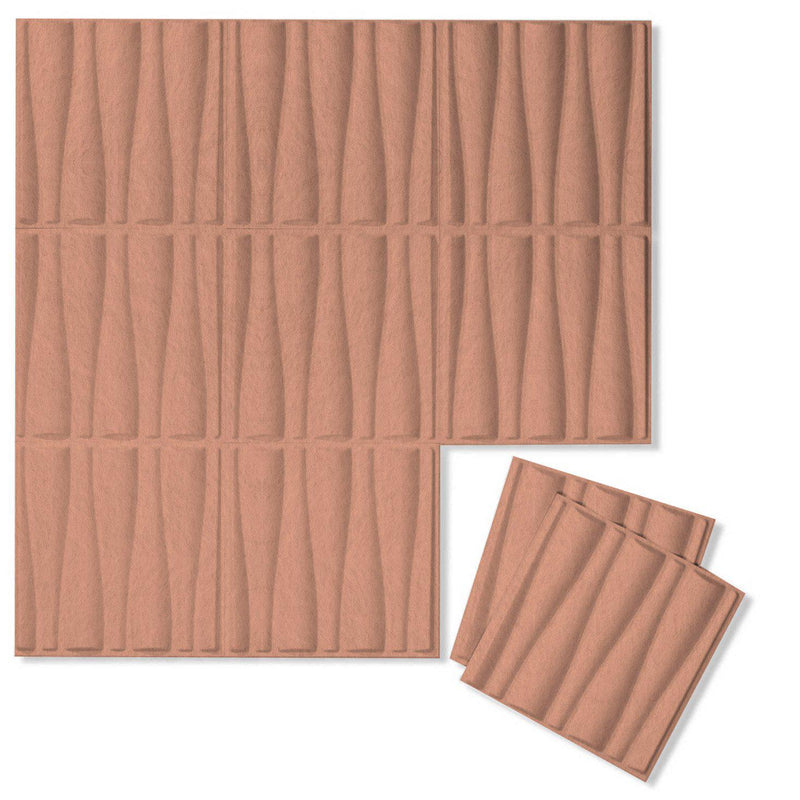 Felt 3D Wall Flats - Acoustic Panels - Drift 3D Wool Felt Wall Flats - 13 - Inhabit