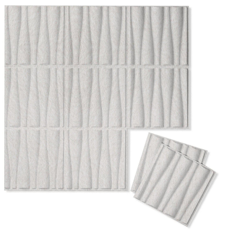 Felt 3D Wall Flats - Acoustic Panels - Drift 3D Wool Felt Wall Flats - 11 - Inhabit