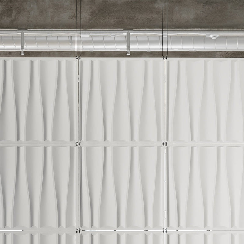 Hanging Wall Flat Systems - Drift Hanging Paintable Wall Flat System - 3D Wall Panels - 2 - Inhabit
