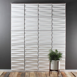 Hanging Wall Flat Systems - Drift Hanging Paintable Wall Flat System - 3D Wall Panels - 3 - Inhabit