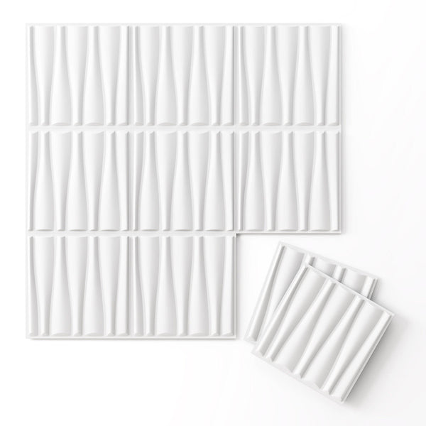 Drift Paint Ready Wall Flats - 3D Wall Panels - Wall Flats - 3D Wall Panels - 2 - Inhabit