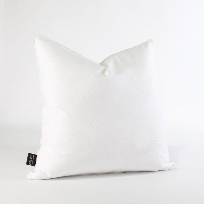 Studio Pillows - Estrella in Pure White Studio Throw Pillow - 1 - Inhabit
