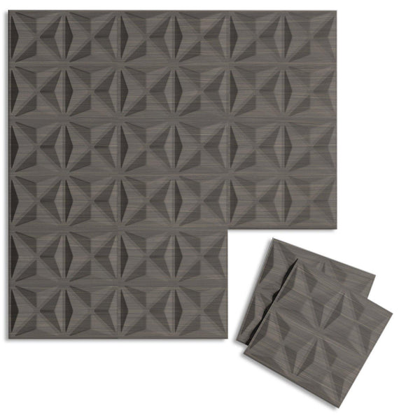 Luxe Supermatte Wall Flats - 3D Wall Panels - Facet 3D Luxe Wall Flats - 1 - Inhabit