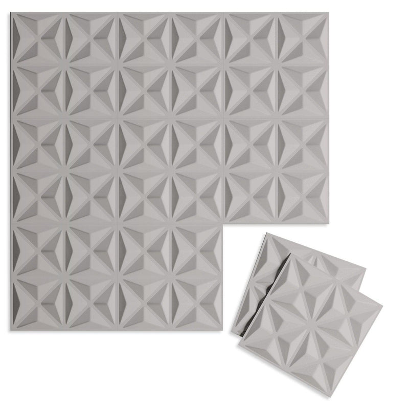 Luxe Supermatte Wall Flats - 3D Wall Panels - Facet 3D Supermatte Wall Flats - 5 - Inhabit