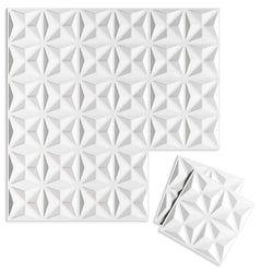 Luxe Supermatte Wall Flats - 3D Wall Panels - Facet 3D Supermatte Wall Flats - 1 - Inhabit
