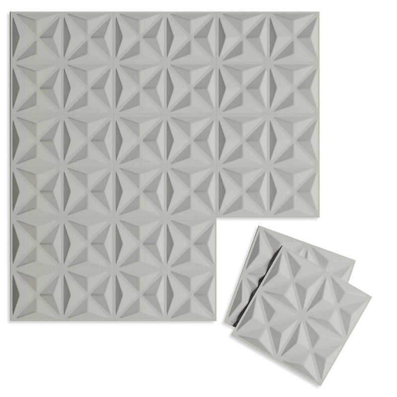 Luxe Supermatte Wall Flats - 3D Wall Panels - Facet 3D Supermatte Wall Flats - 8 - Inhabit