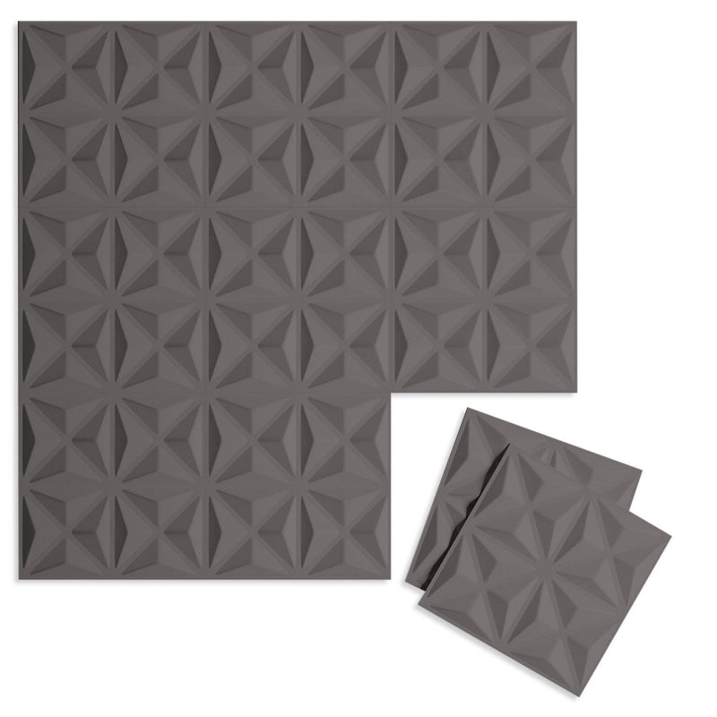 Luxe Supermatte Wall Flats - 3D Wall Panels - Facet 3D Supermatte Wall Flats - 7 - Inhabit
