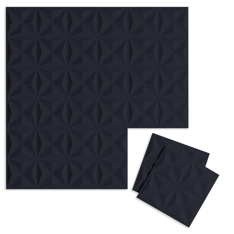 Luxe Supermatte Wall Flats - 3D Wall Panels - Facet 3D Supermatte Wall Flats - 3 - Inhabit