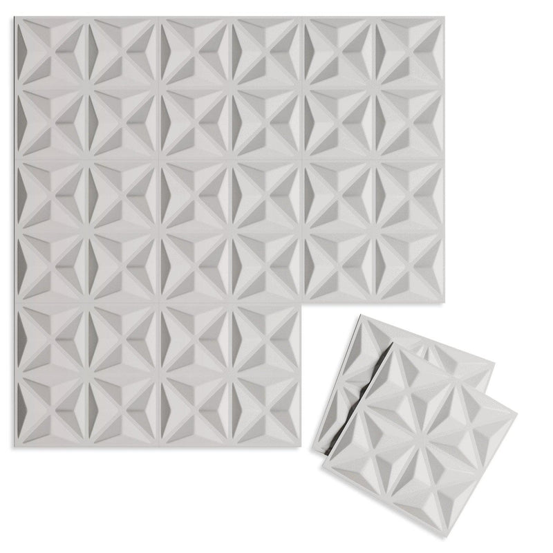 Luxe Supermatte Wall Flats - 3D Wall Panels - Facet 3D Supermatte Wall Flats - 4 - Inhabit