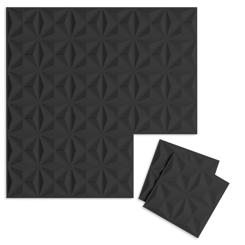Luxe Supermatte Wall Flats - 3D Wall Panels - Facet 3D Supermatte Wall Flats - 6 - Inhabit