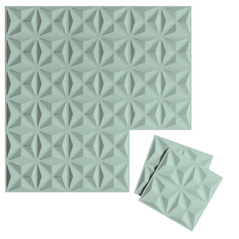 Felt 3D Wall Flats - Acoustic Panels - Facet 3D Wool Felt Wall Flats - 10 - Inhabit