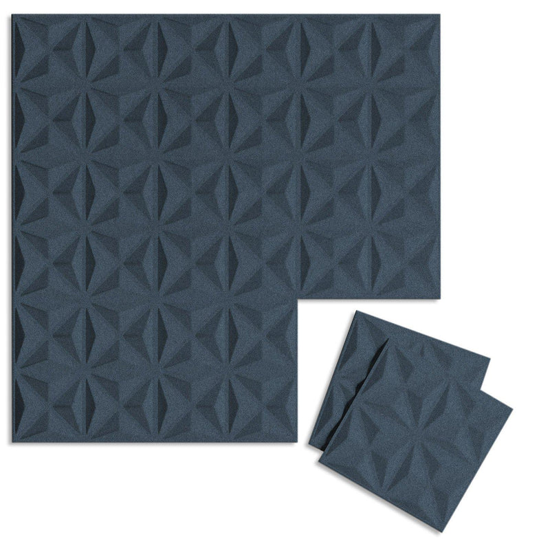 Felt 3D Wall Flats - Acoustic Panels - Facet 3D Wool Felt Wall Flats - 6 - Inhabit