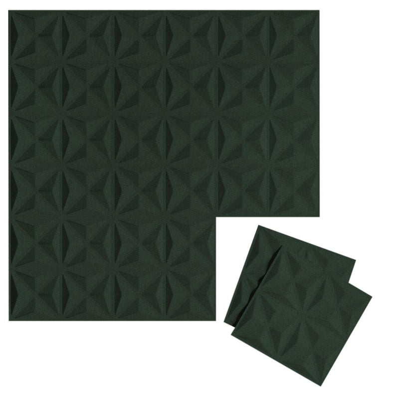 Felt 3D Wall Flats - Acoustic Panels - Facet 3D Wool Felt Wall Flats - 7 - Inhabit