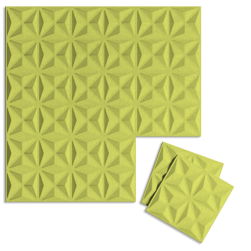 Felt 3D Wall Flats - Acoustic Panels - Facet 3D Wool Felt Wall Flats - 13 - Inhabit
