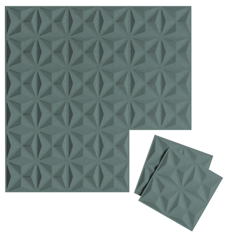Felt 3D Wall Flats - Acoustic Panels - Facet 3D Wool Felt Wall Flats - 5 - Inhabit
