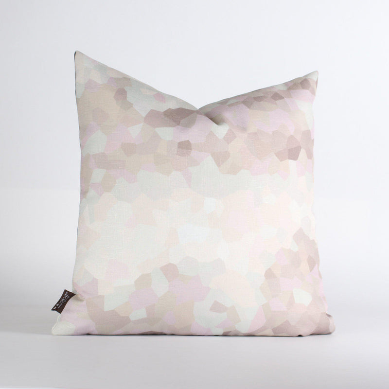 Handmade Pillows - Facet Low in Sherbet Throw Pillow - 3 - Inhabit