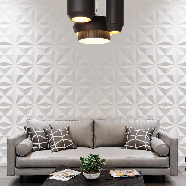 Wall Flats - 3D Wall Panels - Facet Wall Flats - 1 - Inhabit