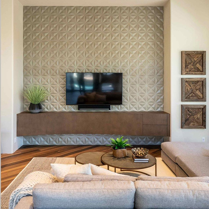 Wall Flats - 3D Wall Panels - Facet Wall Flats - 4 - Inhabit