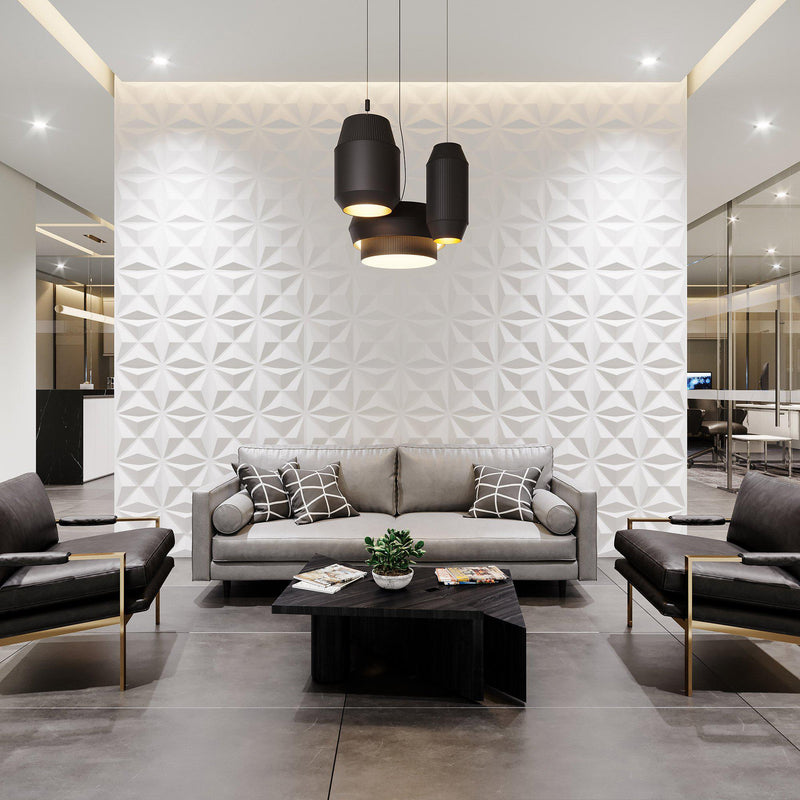 Wall Flats - 3D Wall Panels - Facet Wall Flats - 3 - Inhabit