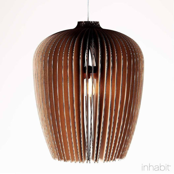 Corrulight Ceiling Lighting - Finley Natural Sculptural Pendant Light - 1 - Inhabit