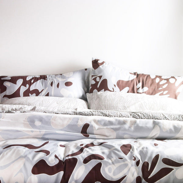 Bedding - Foliage Duvet Cover + Sham Set - 2 - Inhabit