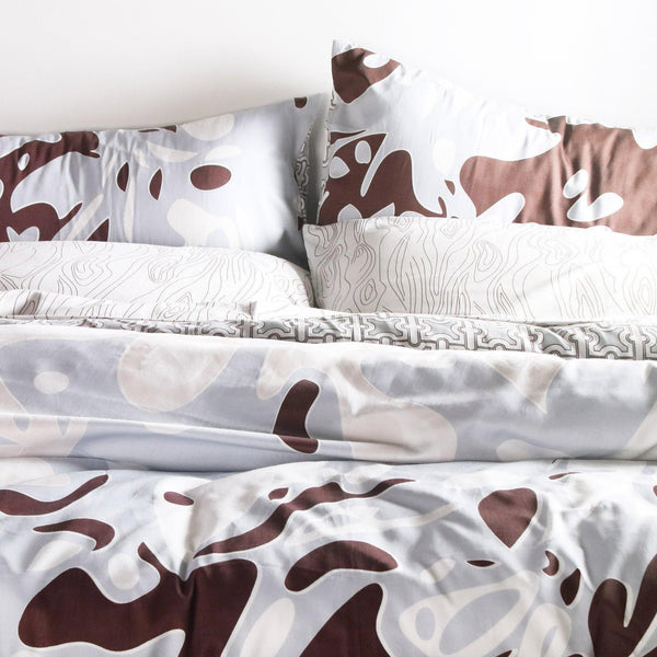 Bedding - Foliage Duvet Cover + Sham Set - 1 - Inhabit