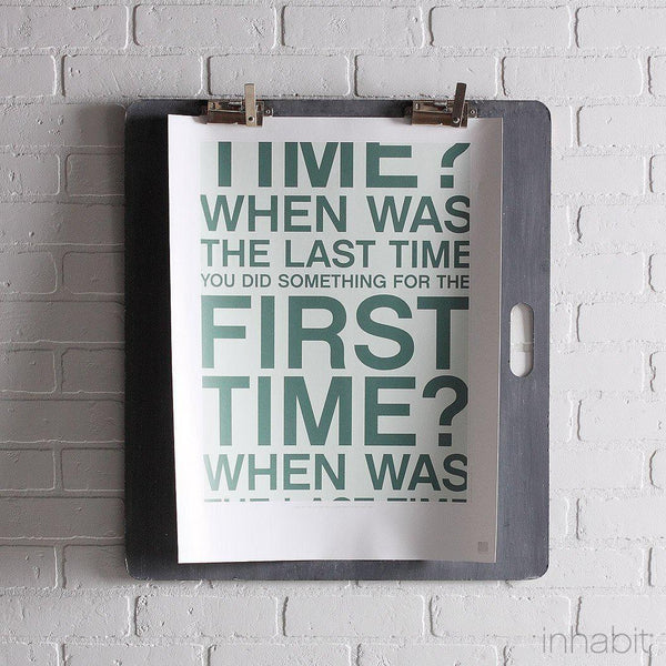 "First Time in Cornflower Print - 18"" x24""- Art Prints - Inhabitliving.com - Inhabit - 1"