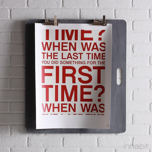 "First Time in Scarlet Print - 18"" x24""- Art Prints - Inhabitliving.com - Inhabit - 1"