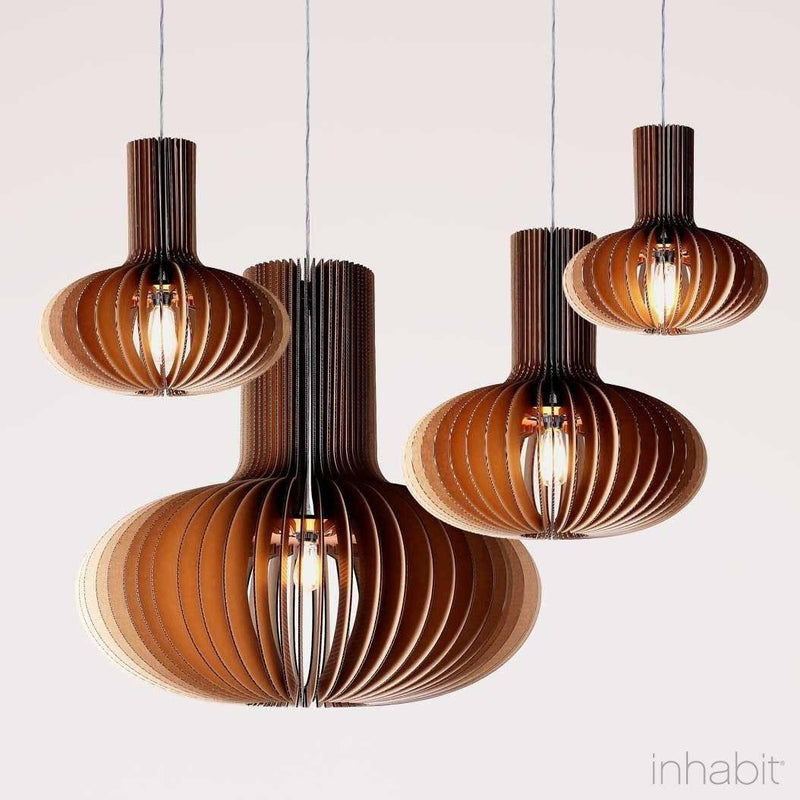 Corrulight Ceiling Lighting - Gibson Natural Sculptural Pendant Light - 4 - Inhabit
